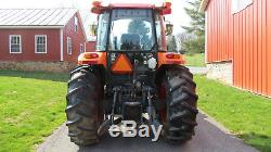 2009 KUBOTA M8540 4X4 UTILITY FARM TRACTOR With CAB HEAT A/C 673 HOURS 85HP DIESEL
