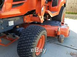 2009 Kubota BX-1850 Sub Compact Tractor Loader Belly Mower 4x4 3 point Hitch PTO