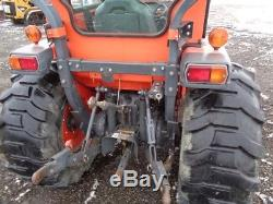 2009 Kubota L4240 Tractor, Curtis Cab withHeat, 4WD, LA854 Loader, Hydro, 935 Hrs