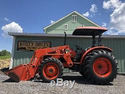 2009 Kubota M5040 4x4 Diesel Tractor / Loader 50 HP Low Cost Shipping Rates