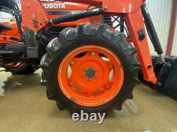 2009 Kubota M5700 Orops 4wd Tractor