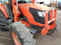 2009 Kubota M9540 Tractor, Cab/Heat/Air, 4WD, LA1353 FL, 12 Speed Hyd Shuttle