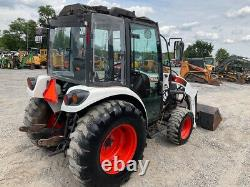 2010 Bobcat CT450 4x4 Hydro 45Hp Compact Tractor with Cab & Loader
