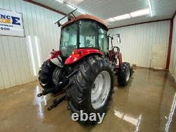 2010 Case Farmall Jx95 4wd Cab Tractor With A/c And Heat
