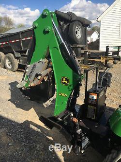 2010 John Deere 2305 Tractor and backhoe 4wd 1026r 1025 john deere 1023