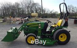 2010 John Deere 2720 Compact Loader Tractor