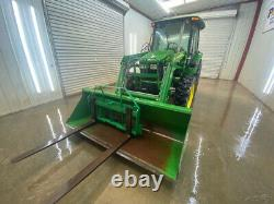 2010 John Deere 5083e Cab Utility Tracto With A/c And Heat