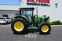 2010 John Deere 6430 4x4 Tractor Enclosed Cab A/C Ex-City