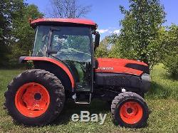 2010 Kubota L5240 Hst 4x4 Tractor Enclosed Cab 54hp Diesel Cheap Shipping Rates