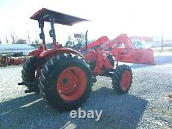 2010 Kubota M7040 4x4 Loader Hydraulic Shuttle- FREE 1000 MILE DELIVERY FROM KY
