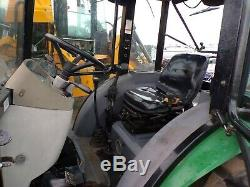 2010 Montana 5740C Tractor Loader Enclosed Cab 4x4 AC 633 Hours