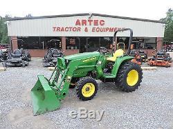 2011 John Deere 3038e 4wd Tractor With Loader 38 Horsepower Hst Transmission