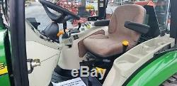 2011 John Deere 3520 Compact Tractor WithLoader And Cab