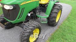 2011 John Deere 4320 4x4 Compact Utility Tractor 48hp Diesel Power Reverser