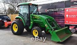 2011 John Deere 4520 Tractor Enclosed Cab A/c, Heater Rotary Tiller