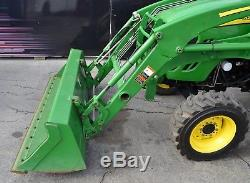 2011 John Deere 4520 Tractor Enclosed Cab A/c, Heater Rotary