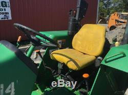 2011 John Deere 5403 4x4 Utility Tractor with Front Weights Only 2500 Hours