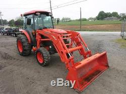 2011 Kubota L 5740 Tractor WithKubota LA 854 Loader, 994 Hrs! , Cab, Heat/AC, 4x4