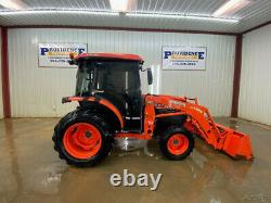 2011 Kubota L3540 4wd Hst Cab Compact Tractor With A/c And Heat