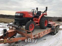 2011 Kubota L3700SU Tractor 4x4
