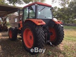2011 Kubota M126X MFWD Tractor
