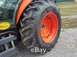 2011 Kubota M7040 4WD tractor WithLoader Low Hours Very Clean