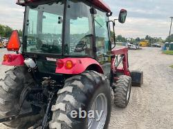 2011 Mahindra 5010 4x4 Hydro 50Hp Compact Tractor with Cab & Loader 1400Hrs