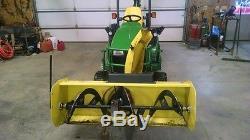 2012 John Deere 1026R MFWD Tractors