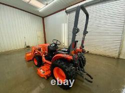 2012 Kubota B2320 Orops 4wd Loader Tractor