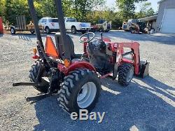 2012 Mahindra 2516 Tractor 4x4 Loader Hydro
