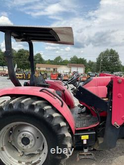 2012 Mahindra 8560 4x4 85Hp Fam Tractor with Loader Only 1800Hrs