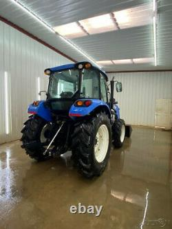 2012 New Holland T4.75 Cab Tractor With A/c And Heat