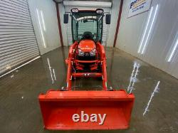 2013 B2650hst Cab Kubota Tractor With A/c And Heat