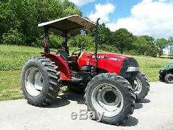2013 Case IH Farmall 75A 4x4 tractor with canopy