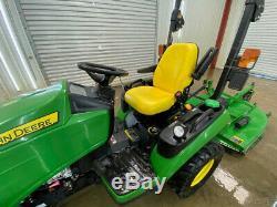 2013 John Deere 1025r Hst Diesel Tractor With 4x4
