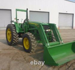 2013 John Deere 6115D 4x4 115Hp Farm Tractor with Loader SUPER CLEAN