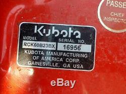 2013 Kubota BX2350 4X4 Farm Tractor 60 Belly Mower 299 Hrs 1 owner rear blade