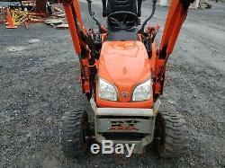 2013 Kubota BX25DLB Compact Loader Tractor WithBackhoe Just Serviced