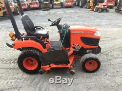 2013 Kubota BX2660 4x4 Diesel Hydro Compact Tractor with 60 Mower Only 1100Hrs
