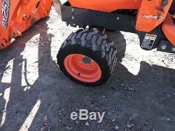 2013 Kubota Bx25 Tractor With Loader & Backhoe 4wd Kubota Good Condition