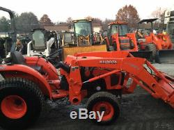 2013 Kubota L3200 4x4 Compact Tractor with Loader Only 1000 Hours
