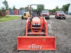 2013 Kubota L3800 tractor with Kub LA524 loader, 4WD, Hydro, 38HP Diesel, 255 hrs