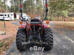 2013 Kubota L3800 tractor with Kub LA524 loader, 4WD, Hydro, Diesel, 110 hrs