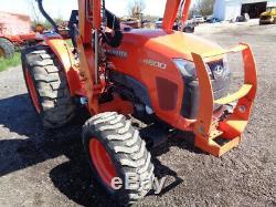 2013 Kubota L4600 Tractor, 4WD, LA764 FL SSL QA, Hydro, PRE EMISSIONS, 321 Hours