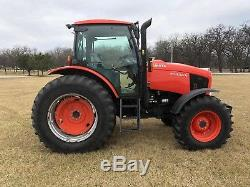 2013 Kubota M135GXDTSC Ag Tractor with 3rd Valve Very Clean, Municipal Owned