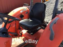 2013 Kubota M7040 4x4 70hp Utility Tractor with Canopy& Front Weighs Only 2300Hrs