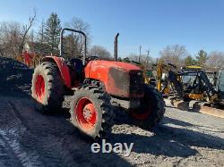 2013 Kubota M8560 4x4 85hp Utility Tractor with Hydraulic Shuttle CHEAP