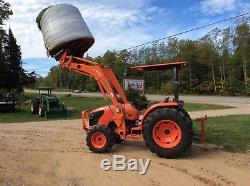 2013 Kubota MX4700 4x4 Loader Tractor