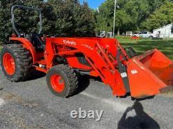 2013 Kubota Mx4700 4x4 Tractor Loader