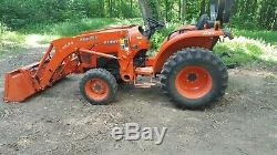 2013 Kubota Tractor L3800
